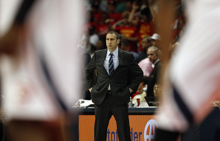 David Blatt, the head coach of Cleveland Cavaliers