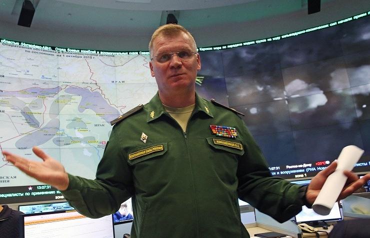 Russian Defense Ministry spokesman Gen. Maj. Igor Konashenkov