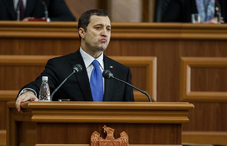 Moldova's former Prime Minister Vlad Filat