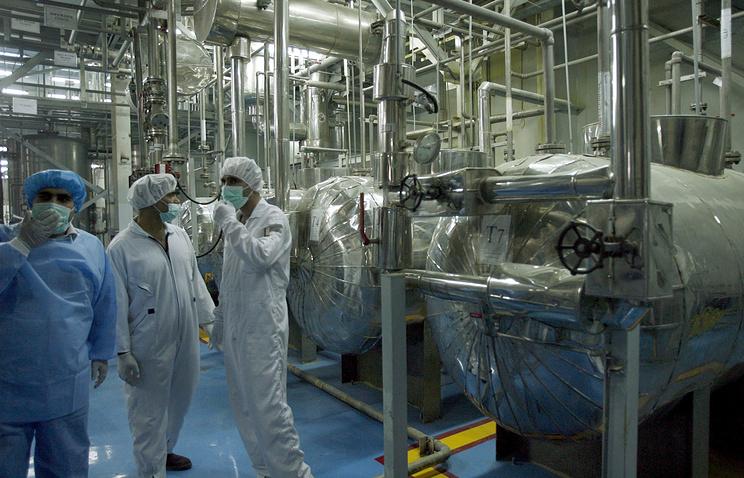 Uranium conversion plant in Iran