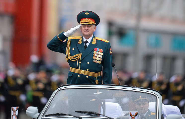 Commander of Russia's Central Military District, Colonel General Vladimir Zarudnitsky