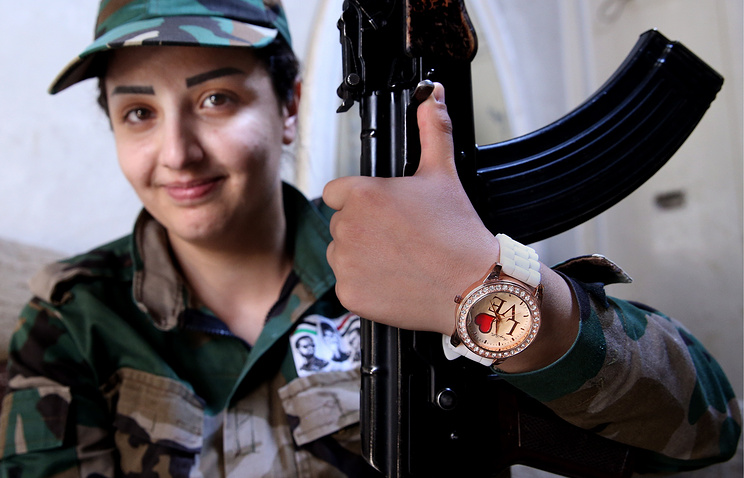 A syrian army soldier