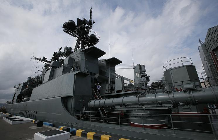 Vice-Admiral Kulakov large anti-submarine warfare ship