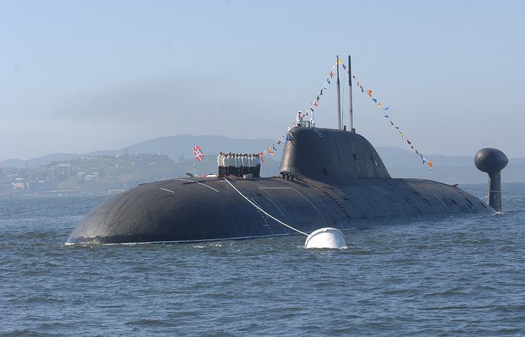 Project 971 Shchuka B submarine