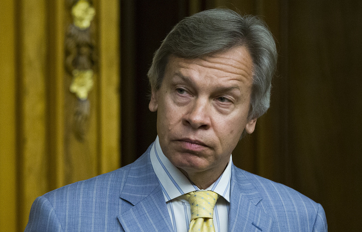 Head of Russia's State Duma International Affairs Committee Alexey Pushkov