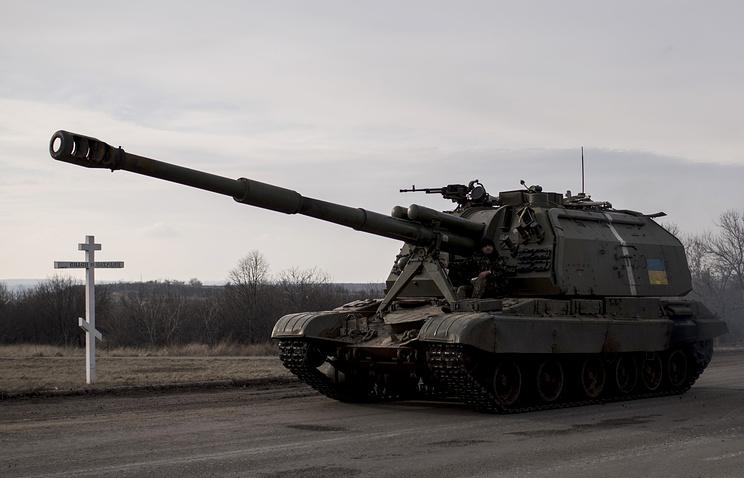 Ukrainian howitzer (archive)