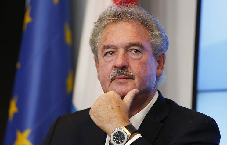 Luxembourg Foreign Minister Jean Asselborn