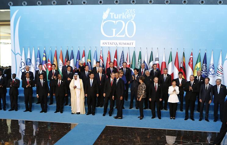 World leaders at G20 summit in Antalya