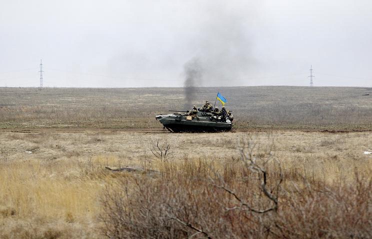 Ukrainian army vehicle (archive)