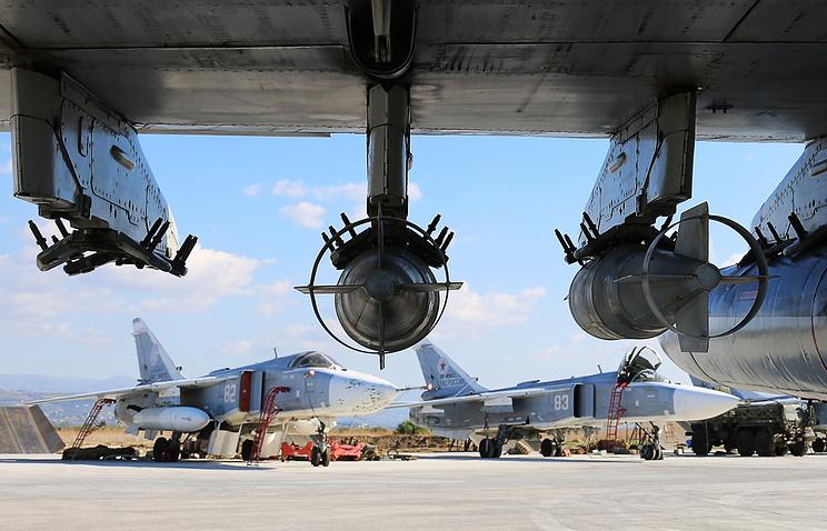 Russia's Su-24 bombers