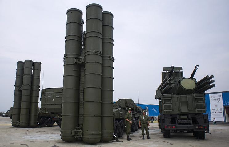 S-400 Triumph air defense missile complex