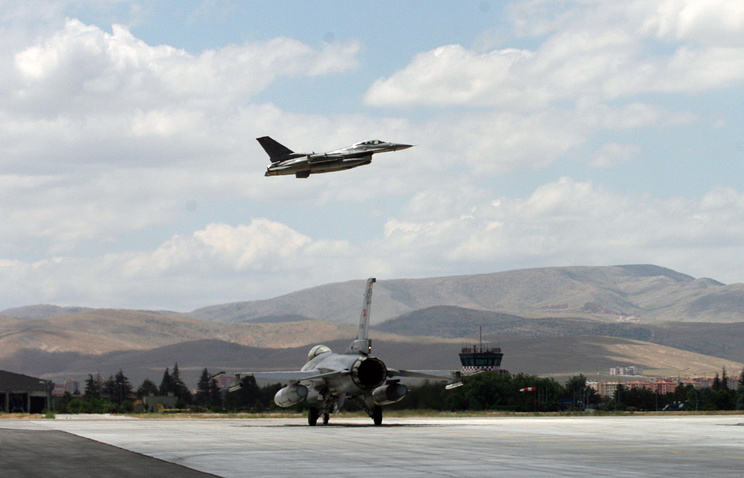 Turkish F-16 fighters (archive)