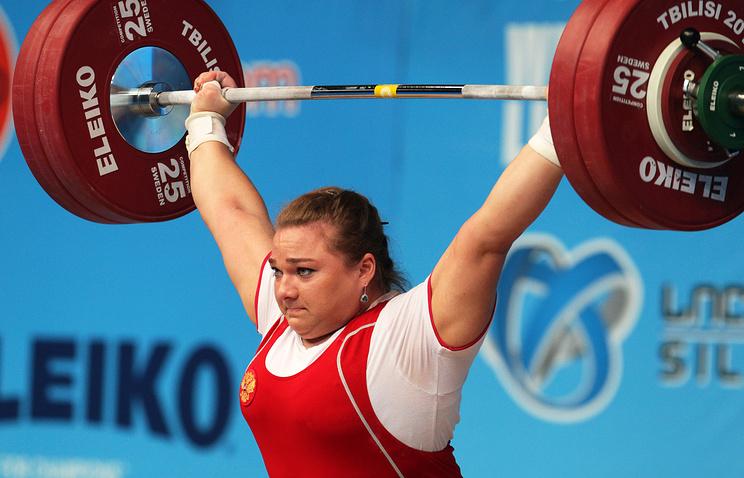 Russian weightlifter Tatiana Kashirina