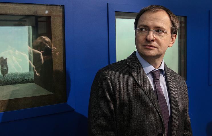 Russian Minister of Culture Vladimir Medinsky.