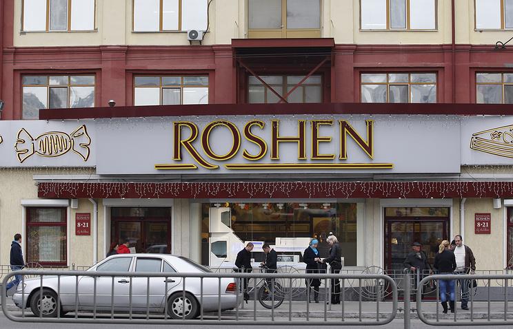 A Roshen store in Kiev (archive)