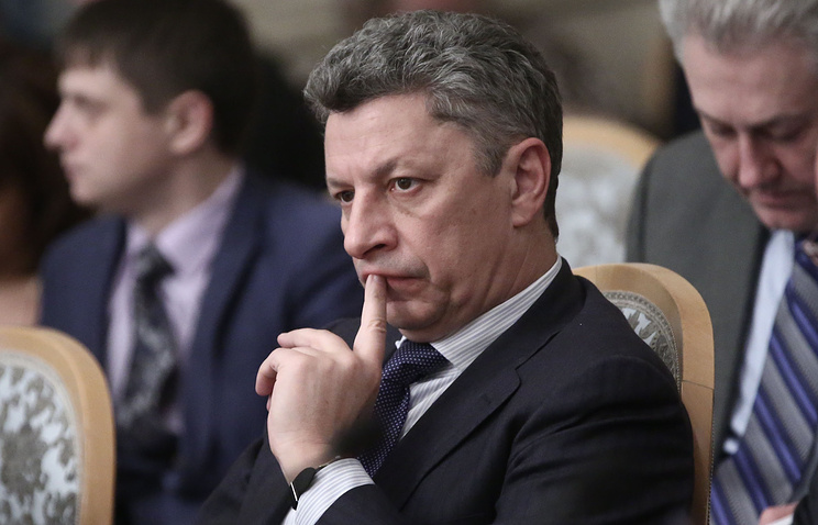 Chairman of the Opposition Bloc faction in Ukraine's Verkhovna Rada Yury Boyko