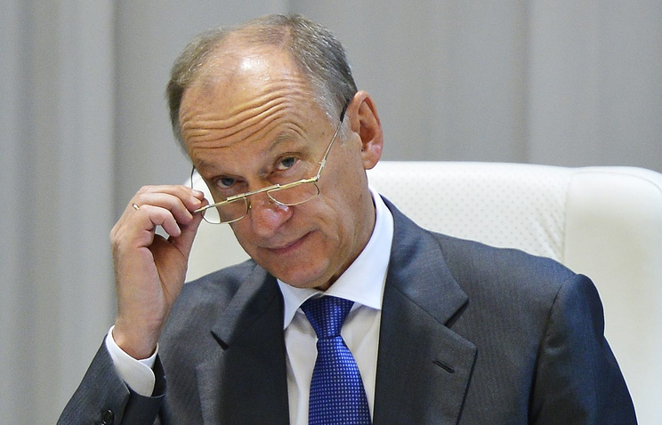 Russian Security Council head Nikolay Patrushev