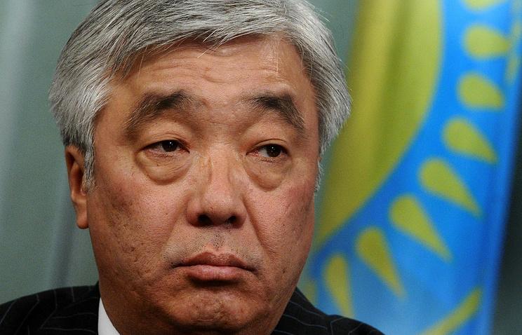 Kazakh Foreign Minister Erlan Idrissov