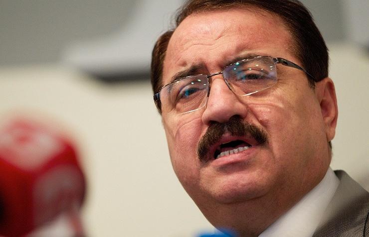Syrian ambassador to Moscow Riyad Haddad