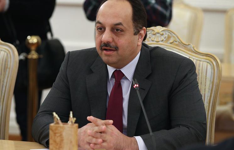 Qatar's Foreign Minister Khalid bin Mohammad Al Attiyah