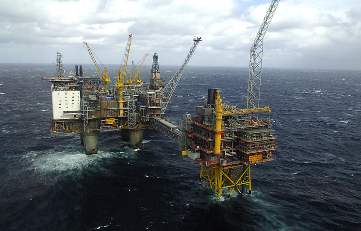 A Statoil platform in North Sea (archive)