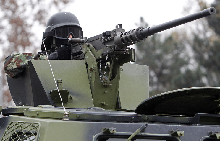 Serbian security forces