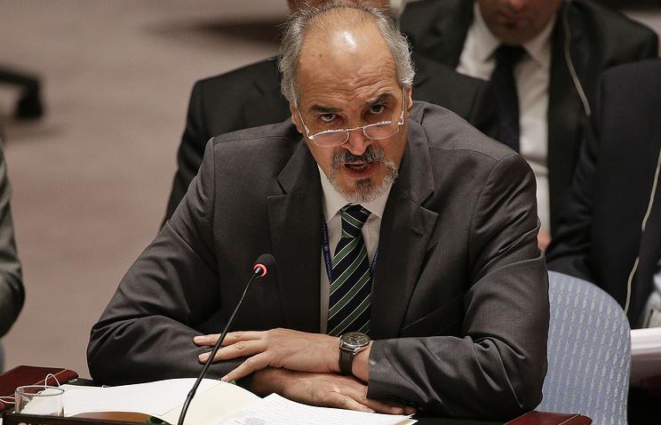 Syria's UN Ambassador Bashar Jaafari