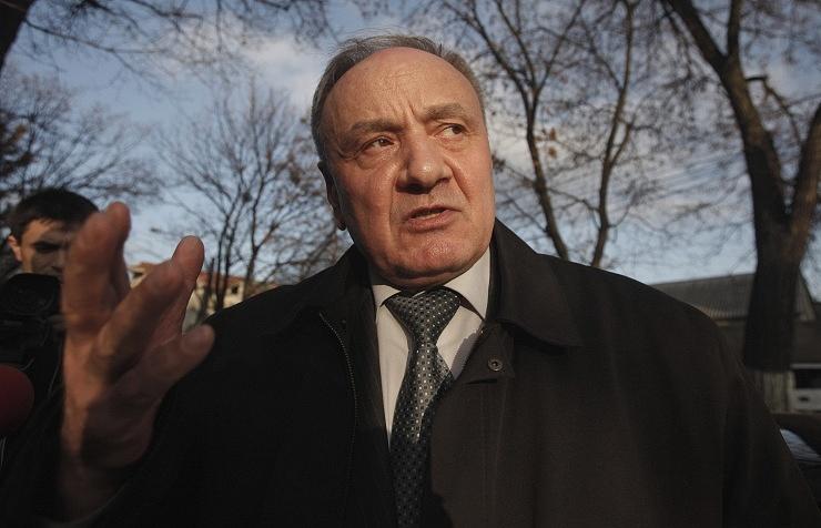 Moldova's President Nicolae Timofti
