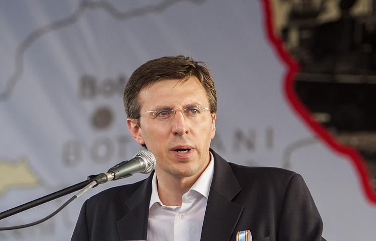 Chisinau's Mayor Dorin Chirtoaca