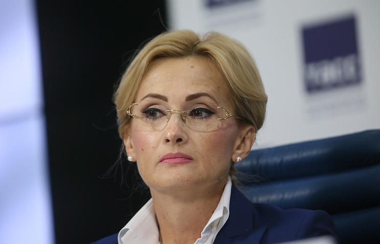 Head of the State Duma's security and resistance to corruption committee, Irina Yarovaya