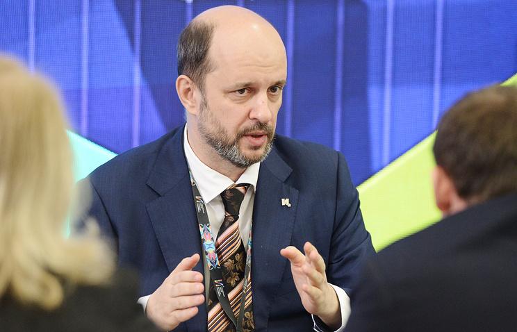 President Putin's advisor on the Internet German Klimenko