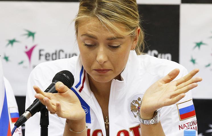 Maria Sharapova t