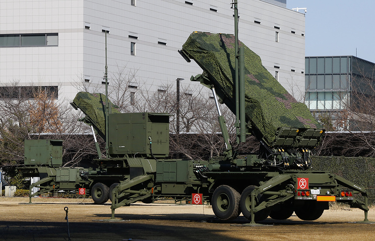 Japan Self-Defense Force's PAC-3 Patriot missile unit