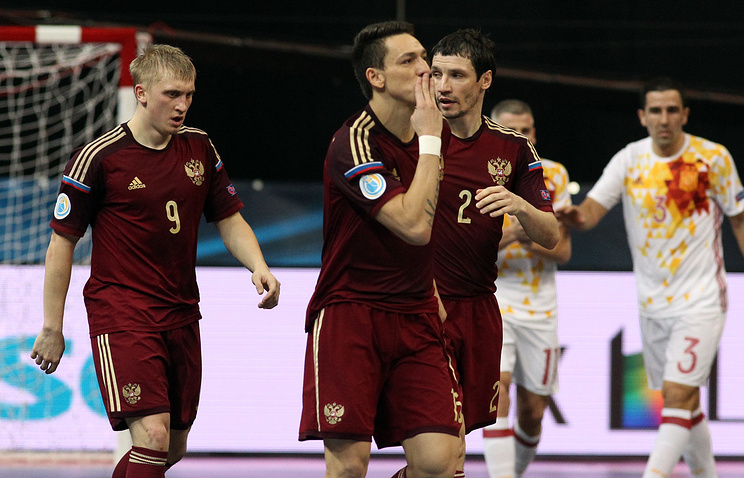 The Russian national minifootball team