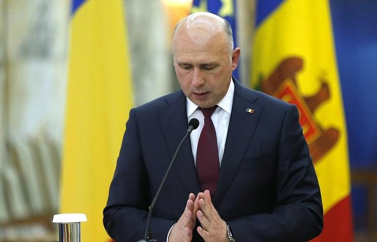 Moldovan Prime Minister Pavel Filip