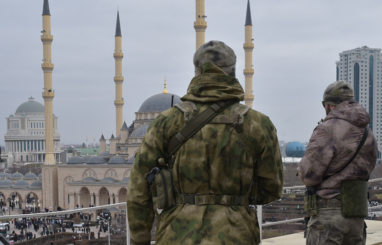 A view of the Chechen capital (archive)
