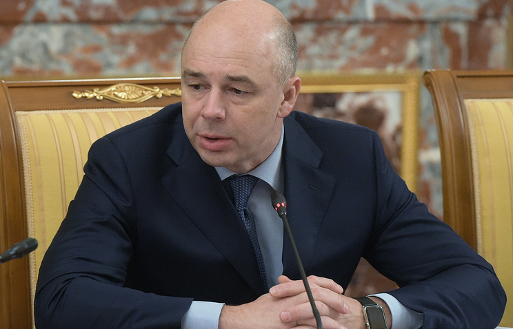 Russia's Minister of Finance and Chairman of Bank's Board of Governors Anton Siluanov