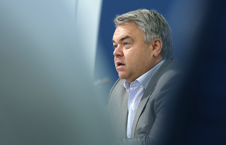 Secretary-General of the All-Russia Athletics Federation (ARAF) Mikhail Butov