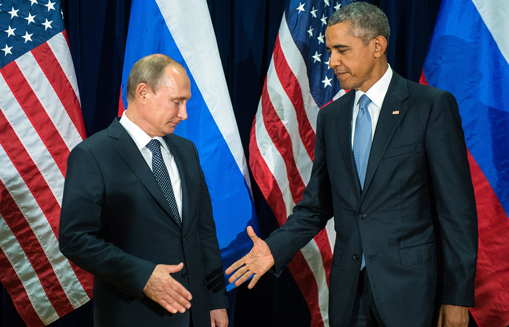 Russian President Vladimir Putin and US President Barack Obama (archive)