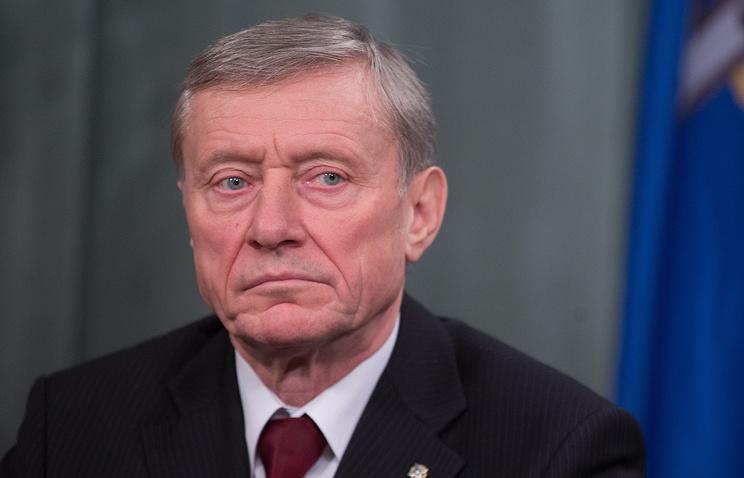 CSTO chief Nikolai Bordyuzha