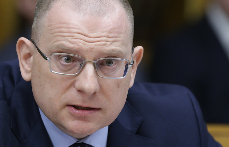 Konstantin Dolgov, the Russian Foreign Ministry ombudsman for human rights, democracy and the rule-of-law