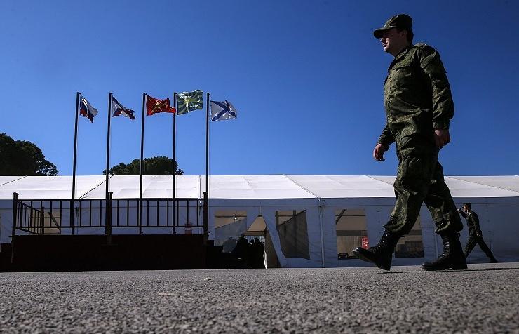 Hmeimim base in Syria