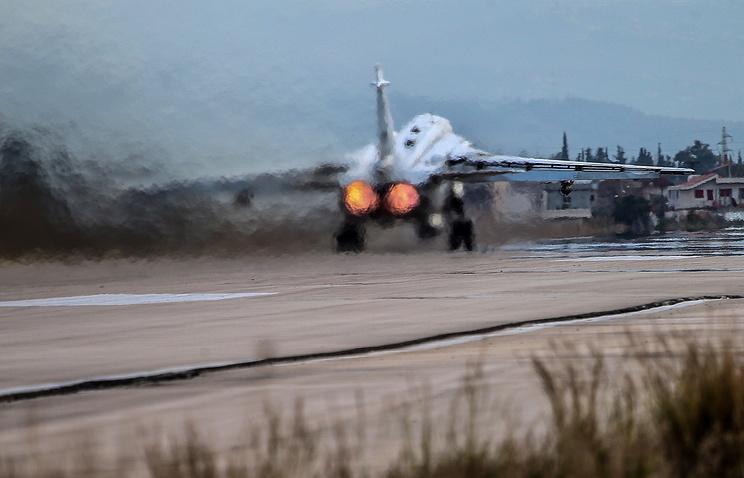 Russia's Sukhoi Su-24M bomber