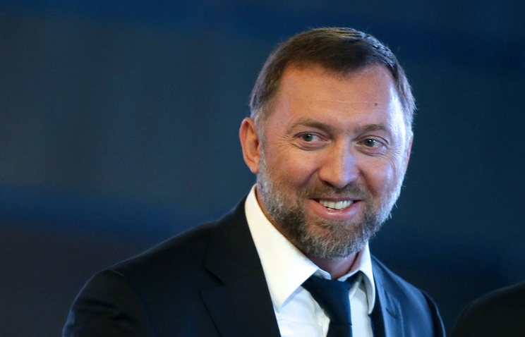 Russian businessman Oleg Deripaska