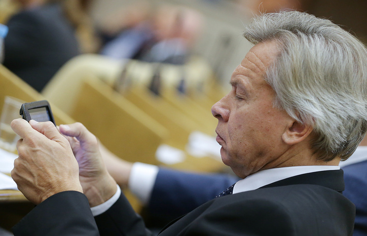 Russian State Duma's International Affairs Committee Alexey Pushkov
