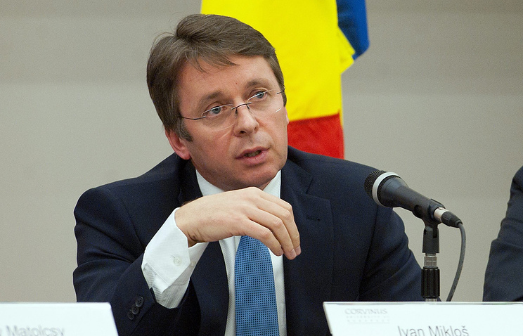 Slovakia's former minister of finance, Ivan Miklos