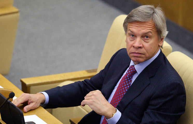 Chairman of Russian State Duma's International Affairs Committee Alexey Pushkov