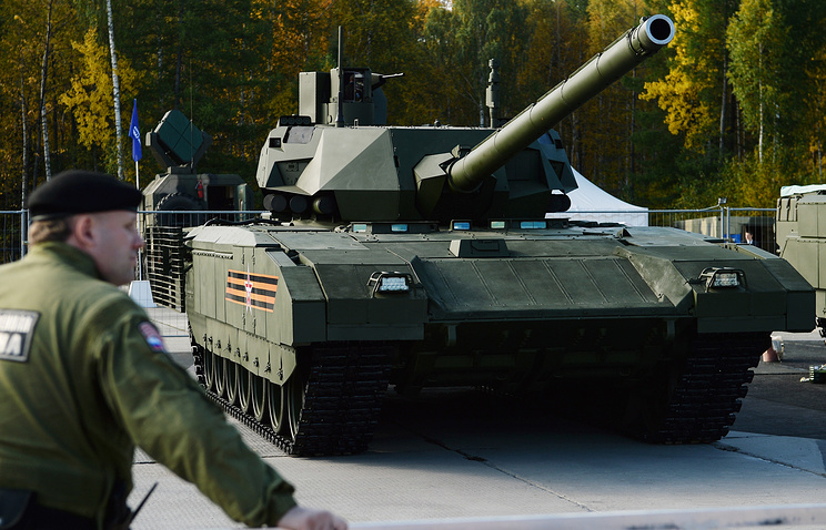 The new T-14 Armata tank
