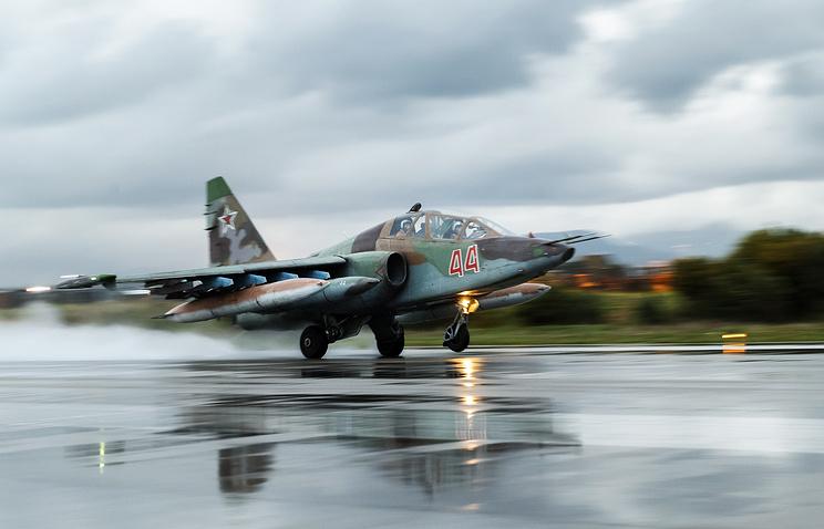 Su-25 aircraft