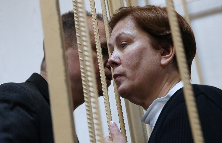 Natalya Sharina, the director of the Ukrainian Library in Moscow